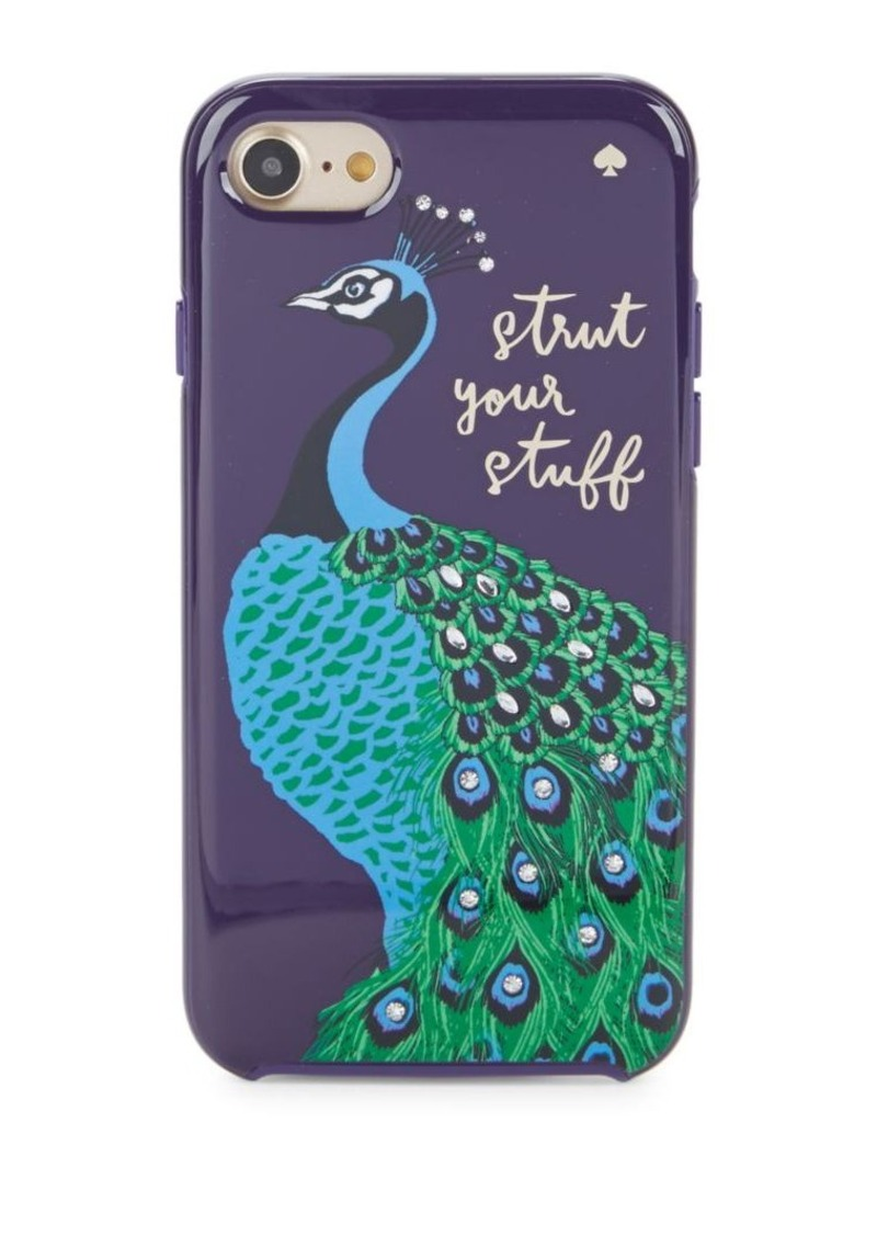official photos 04e66 2a20a New York Peacock Hybrid Hardshell iPhone Case