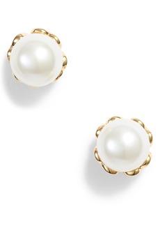 kate spade new york pearlette delicate stud earrings