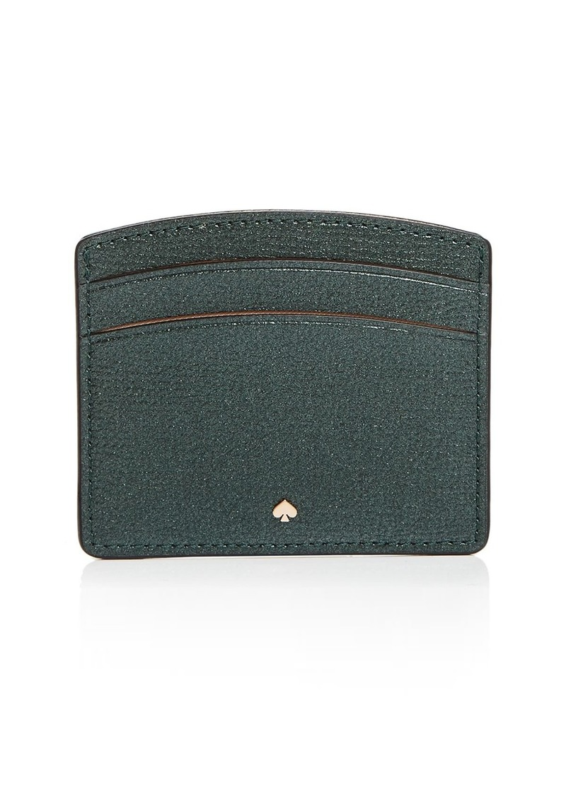 kate spade new york Pebbled Leather Card Holder