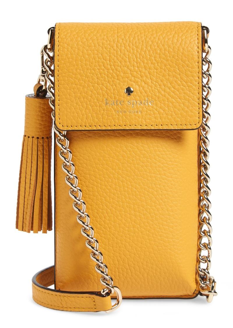 cd60f2be6 Kate Spade kate spade new york pebbled leather phone crossbody bag ...