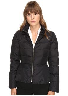 Kate Spade New York Peplum Puffer Jacket
