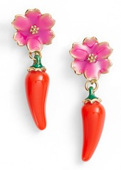 kate spade new york pepper drop earrings