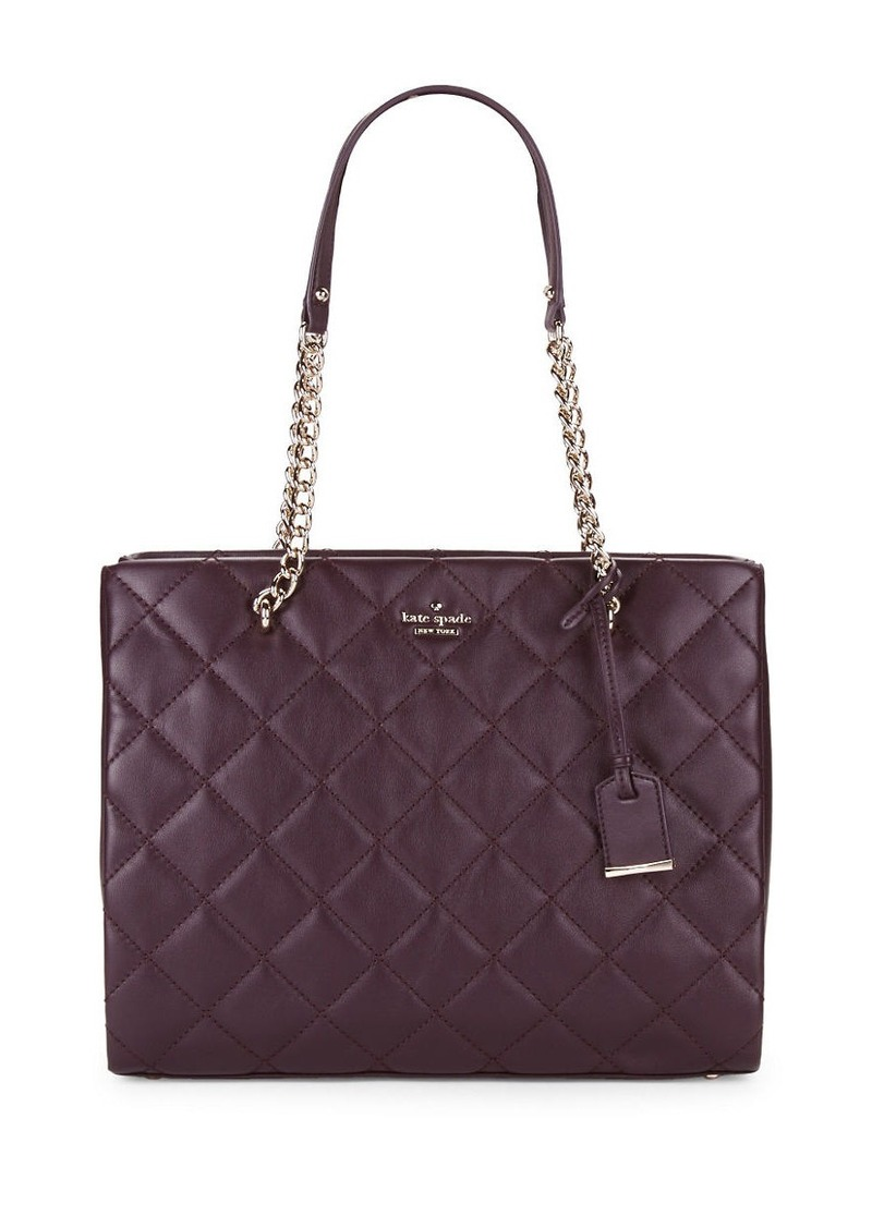 KATE SPADE NEW YORK Phoebe Quilted Tote