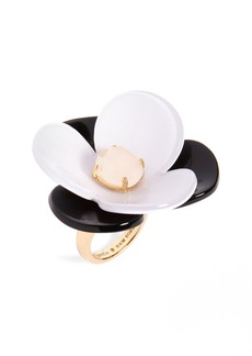 kate spade new york pick a posy cocktail ring