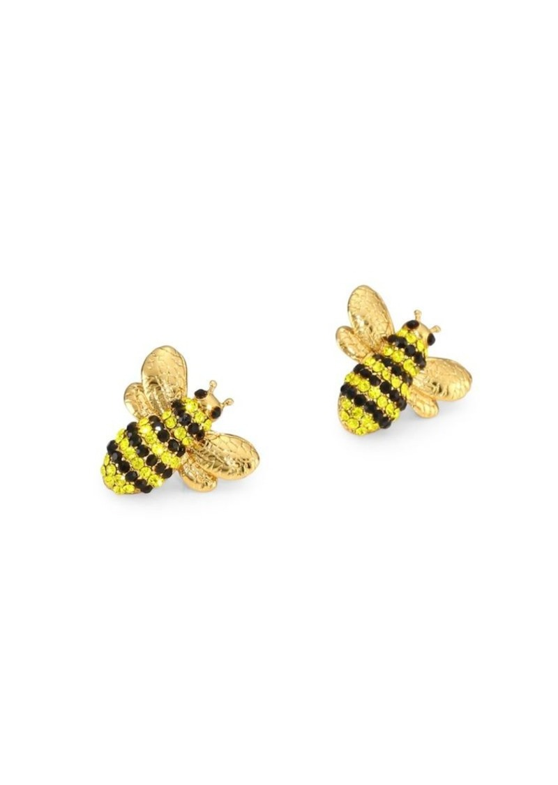 Kate Spade New York Picnic Perfect Bee Statement Studs ZhGg0HSO4