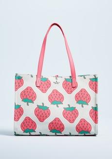 Kate Spade New York Picnic Perfect Strawberry Tote