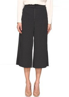 Kate Spade New York Pin Dot Crepe Culotte