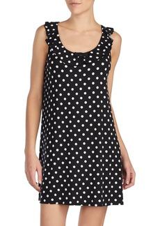 kate spade new york polka dot chemise