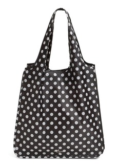 kate spade new york 'polka dot' reusable shopping tote