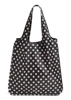 kate spade new york 'polka dot' reusable shopping tote