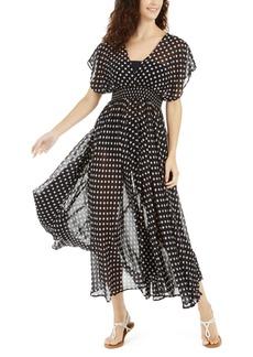 kate spade new york Polka Dot Swim Cover-Up Dress Women's Swimsuit