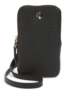 kate spade new york polly leather phone crossbody bag