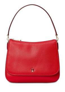 kate spade new york Polly Medium Leather Shoulder Bag