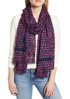 kate spade new york pop scallop scarf