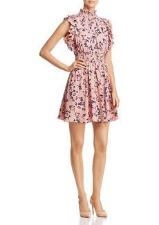 kate spade new york Prairie-Rose Sleeveless Ruffle-Trim Dress