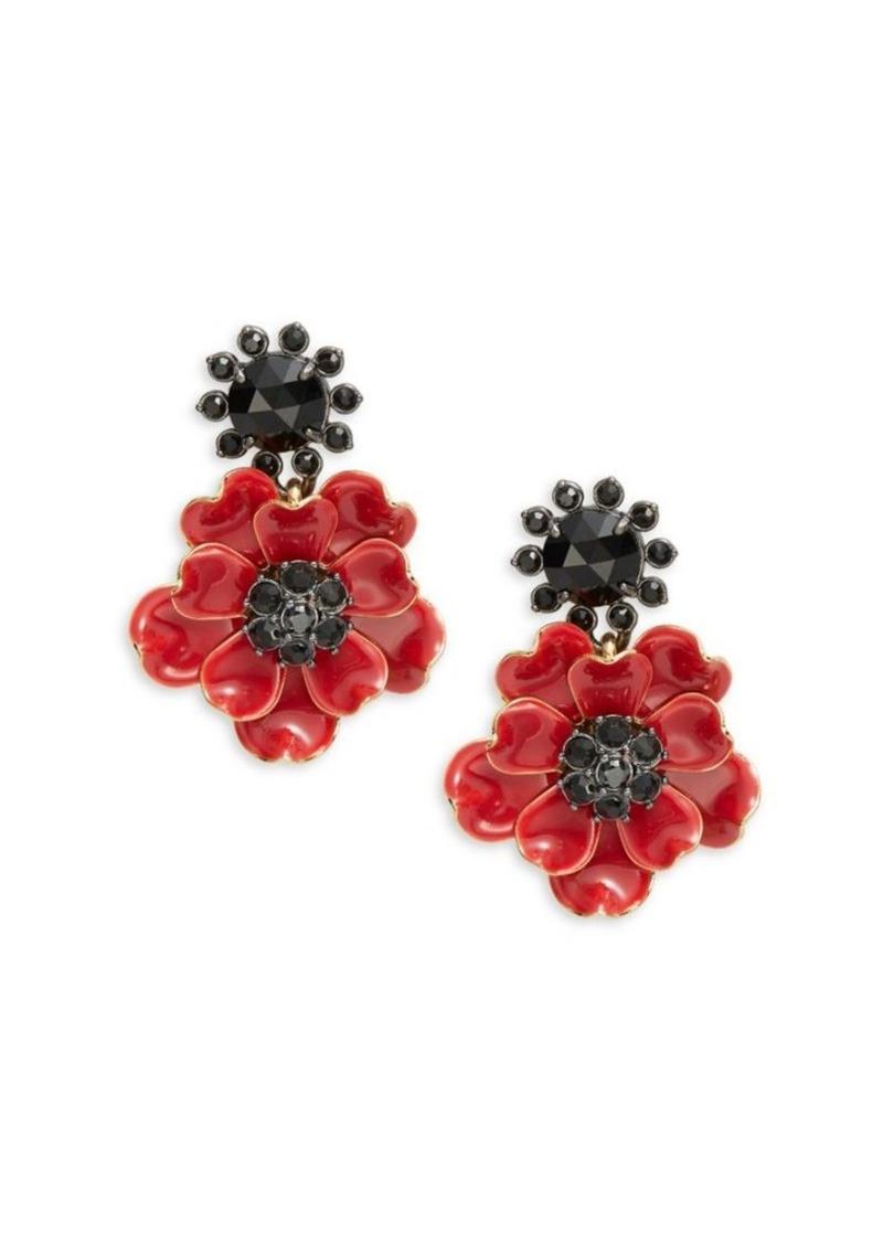 Kate Spade New York Precious Poppies Drop Earrings