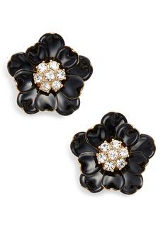 kate spade new york precious poppies stud earrings
