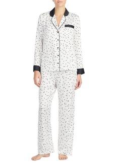 kate spade new york print charmeuse pajamas