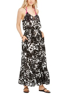 Kate Spade New York Printed Cover-Up Maxi Dress Women's Swimsuit