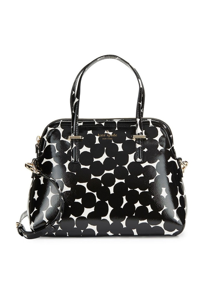 KATE SPADE NEW YORK Printed Dome Satchel