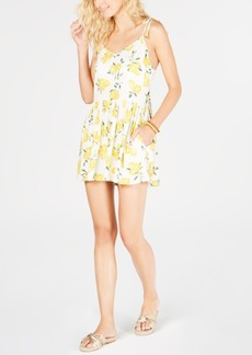 kate spade new york Printed Romper Cover-Up Women's Swimsuit