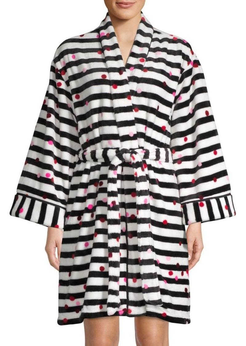Kate Spade New York Printed Self-Tie Robe