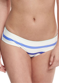 kate spade new york provincetown striped hipster swim bottom