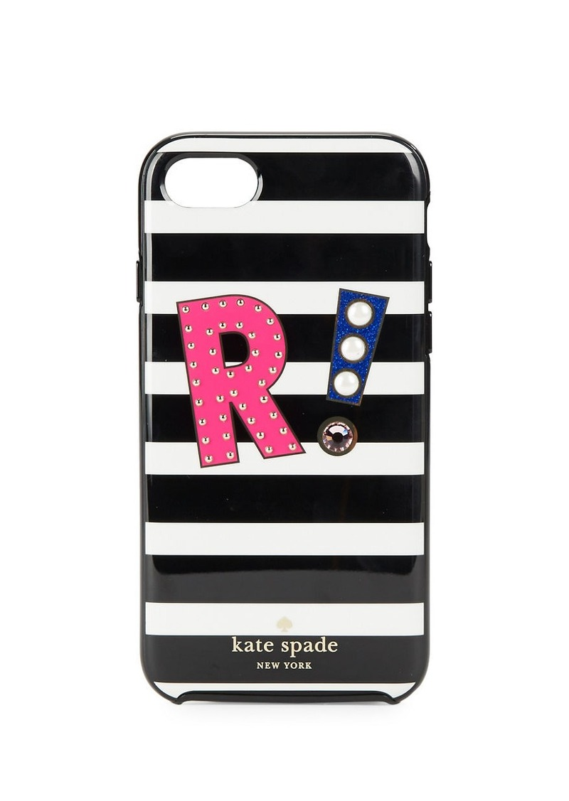 KATE SPADE NEW YORK R Initial iPhone 7 Case
