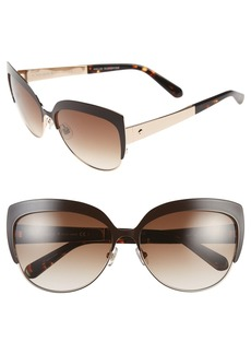kate spade new york 'raelyn' 59mm cat eye sunglasses