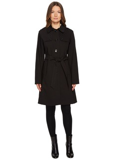 Kate Spade Rain Tie Waist Fit and Flare Trench Coat