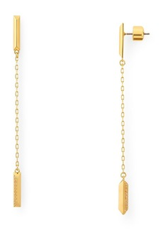 kate spade new york Raise the Bar Pav� Linear Earrings