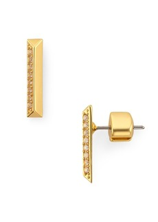 kate spade new york Raise the Bar Pav� Stud Earrings