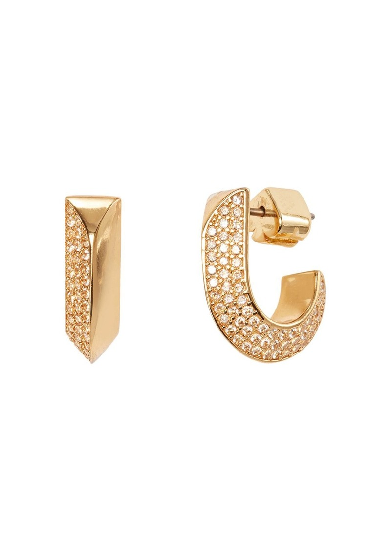 kate spade new york Raise the Bar Small Huggie Hoop Earrings