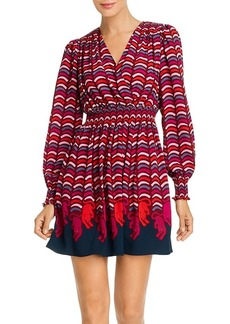 kate spade new york Rawr Printed Smocked Dress