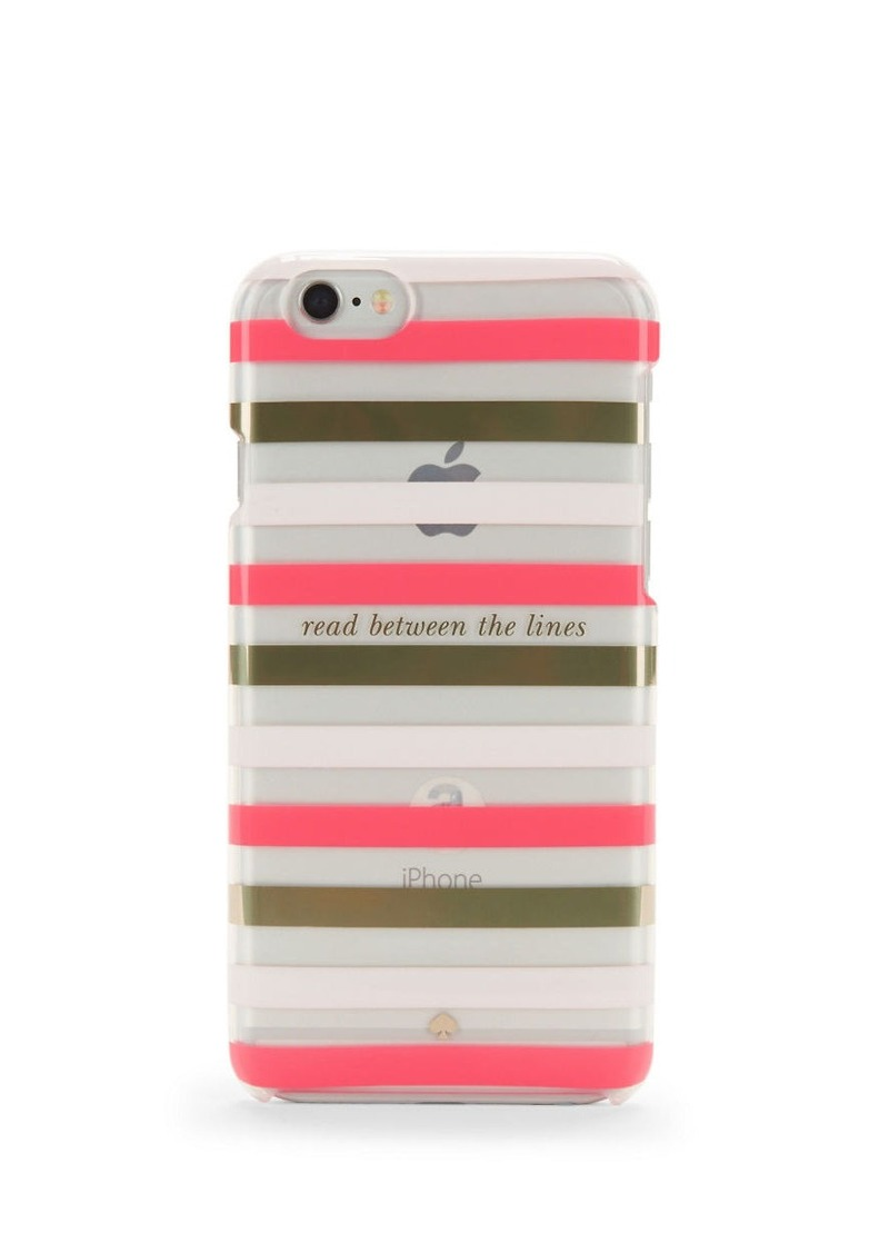 KATE SPADE NEW YORK Read Between The Lines iPhone 6 Case