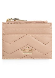 kate spade new york reese park – lalena quilted leather card case