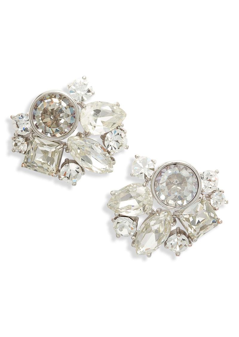 kate spade new york reflecting pool cluster earrings