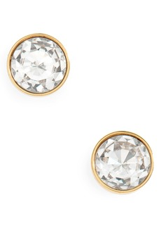 kate spade new york reflecting pool mini round stud earrings