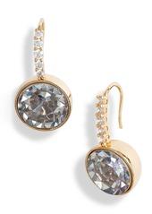 kate spade new york reflecting pool pavé drop earrings