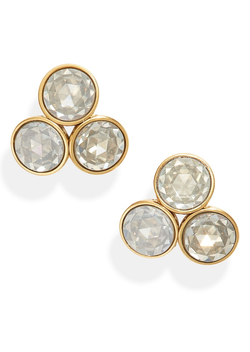 kate spade new york reflecting pools cluster stud earrings