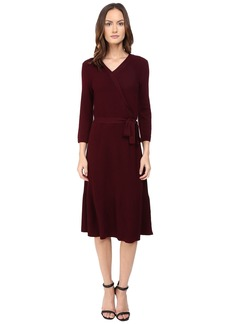 Kate Spade New York Rib Knit Wrap Dress