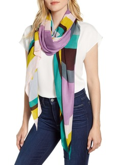 kate spade new york rita stripe scarf