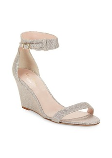Kate Spade New York Ronia Glitter Textile Wedges