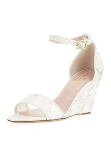 kate spade new york roosevelt lace wedge sandal