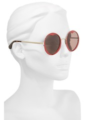 kate spade new york rosaria 53mm heart cutout lens sunglasses