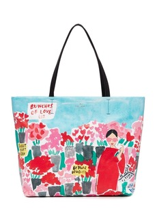 Kate Spade New York Rose Scene Hallie Tote
