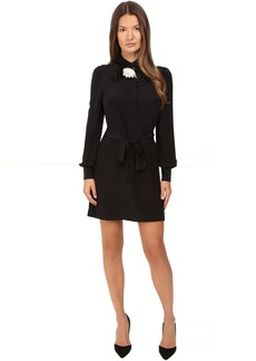 Kate Spade Rosette Bow Shirtdress