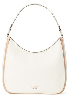 kate spade new york roulette large leather hobo bag