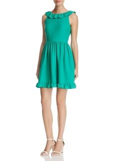 kate spade new york Ruffle Mini Dress