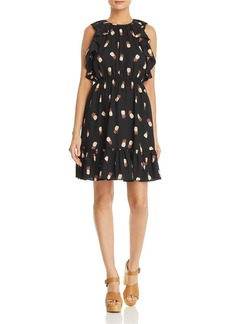 kate spade new york Ruffled Pineapple Dress